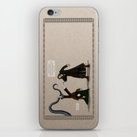 aragorn iPhone & iPod Skins featuring Thankless Job by wolfanita