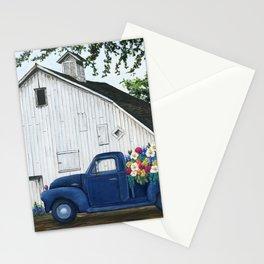 Flower Farm Truck Stationery Cards