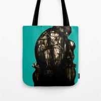 leonardo Tote Bags featuring Leonardo by superdaimos