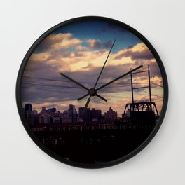 point me towards home Wall Clock