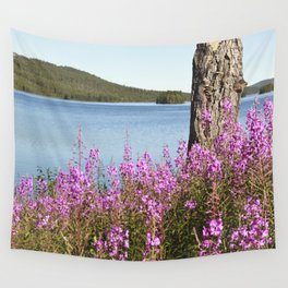Summer At The Polar Circle Wall Tapestry