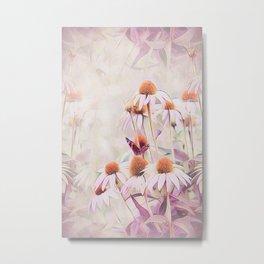Pink Mirage Metal Print