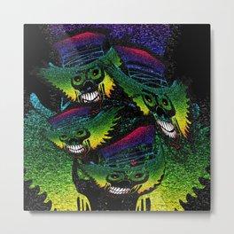Tanz der Totenkopfäffchen Metal Print