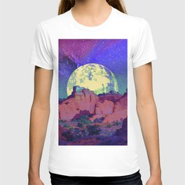 night desert landscape T-shirt