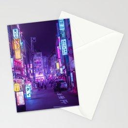 Tokyo a Neon Garden Stationery Cards