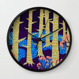 Blåbär / Blueberry Wall Clock