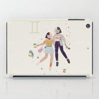 gemini iPad Cases featuring Gemini by LordofMasks
