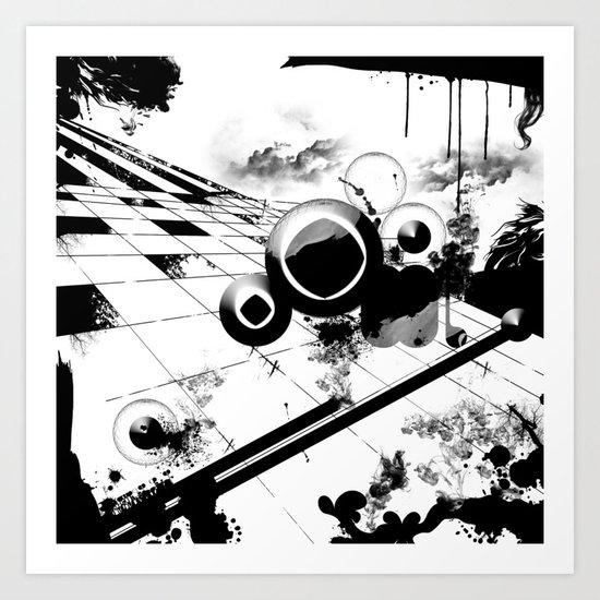 BP. Dreams Series1. Nature Calling_2. Art Print