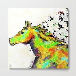 A Horse's Spirit Metal Print