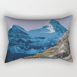 Mt. Assiniboine Provincial Park Rectangular Pillow