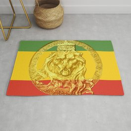 Conquering Lion of Judah Reggae Master Rug