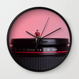 Shrunk the people Wall Clock