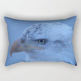 Young Eagle in Failing Light Rectangular Pillow
