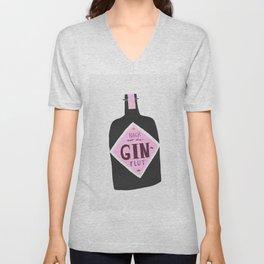 Gin Unisex V-Neck