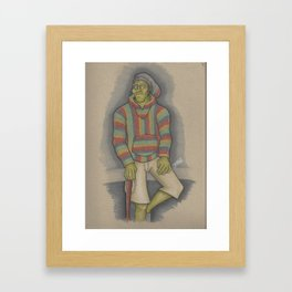 RastaFrankian Framed Art Print
