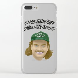 Mac DeMarco - Always Feelin Tired Clear iPhone Case