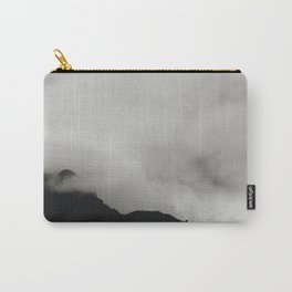 Cloudy Mountain Tops Carry-All Pouch