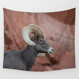 Desert Bighorn, Valley of Fire - II Wall Tapestry