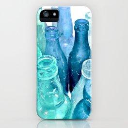 Aqua Bottles iPhone Case