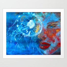 Spellbound http://www.magcloud.com/browse/issue/1422780?__r=116913 Art Print