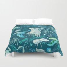 Aqua pattern Duvet Cover