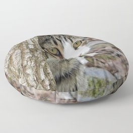 My Hunting Cat Floor Pillow