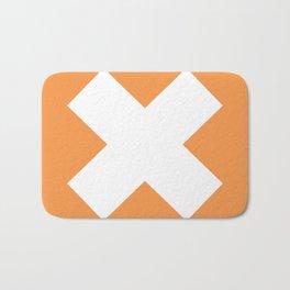 X WHITE Bath Mat