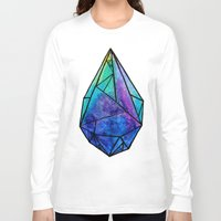 prism Long Sleeve T-shirts featuring Teardrop Prism by Hayley Lang