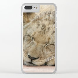 Lion_2014_1202 Clear iPhone Case