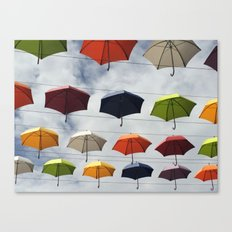 What color are you ? Canvas Print