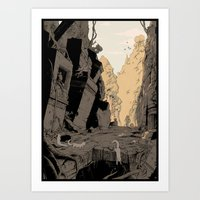 Ruins of Ur-Sagol Art Print