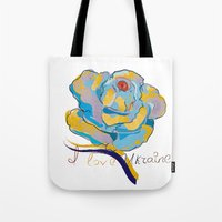 ukraine Tote Bags featuring ukraine by luiza13