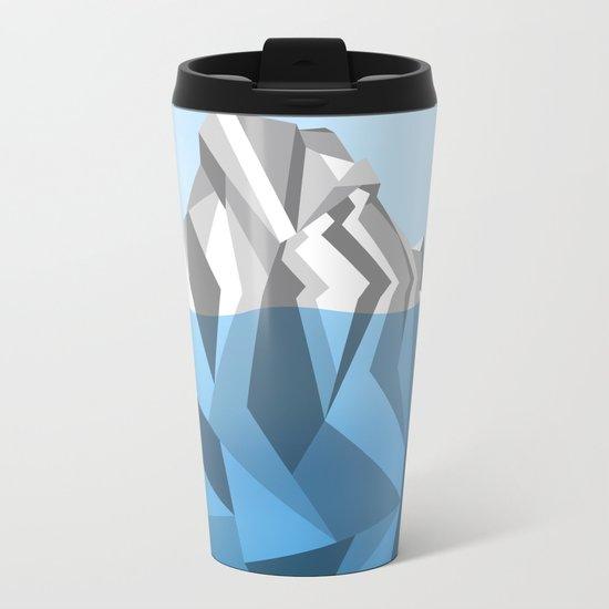 ANTARCTIC ICEBERG Metal Travel Mug