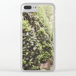 Charleston Garden Goddess Clear iPhone Case