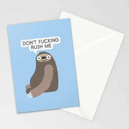 No Hurries Stationery Cards