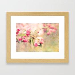 Blossoming Love Framed Art Print