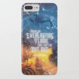 Zodiac - Everlasting Flame iPhone Case