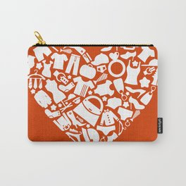 Heart clothes Carry-All Pouch