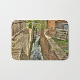 Sluice Gate at the Water mill Bath Mat