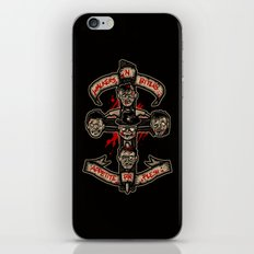 Appetite For Flesh iPhone & iPod Skin