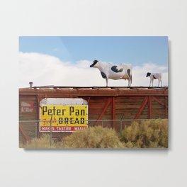 Catwalk Heifer Metal Print