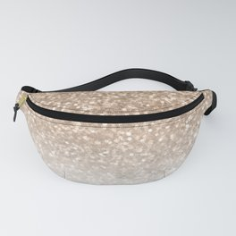 Sparkle - Gold Glitter and Marble Fanny Pack