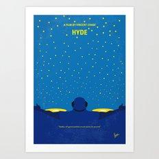 No777 My HYDE minimal movie poster Art Print