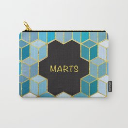 Cubes Of Marts Carry-All Pouch