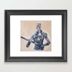 Jaylah Framed Art Print