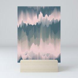 Abstract Art. Morning Mist Mini Art Print