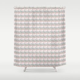 contro; alt delete 001 Shower Curtain