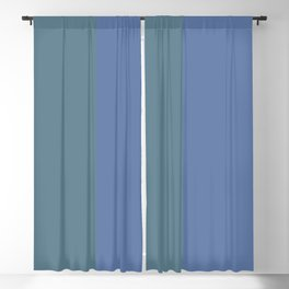 Parable to Behr Blueprint Color of the Year and Accent Colors Vertical Stripes 8 Blackout Curtain