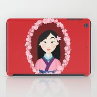 mulan iPad Cases featuring Mulan  by Joey Ellson