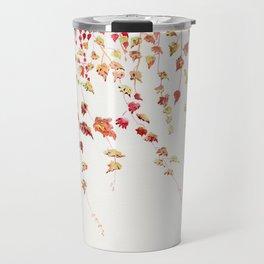 Vines Watercolor Travel Mug
